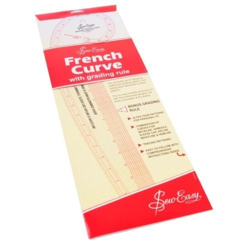 Sew Easy French Curve Imperial Ruler