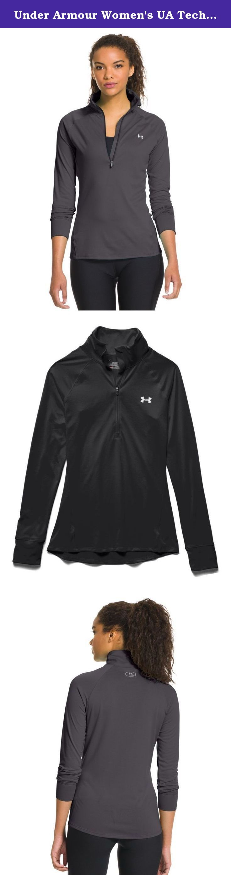 Under Armour Women's UA TechTM ½ Zip Large PHANTOM GRAY. Under Armour, Inc. is an American sports clothing and accessories company. The company is a supplier of sportswear and casual apparel.
