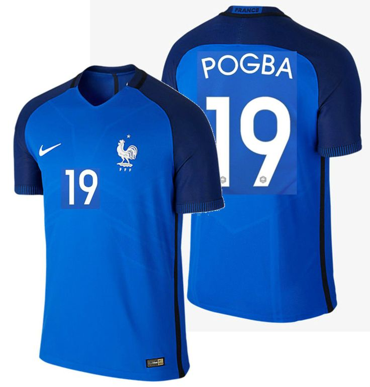 NIKE P. POGBA FRANCE VAPOR MATCH AUTHENTIC HOME JERSEY EURO 2016 PLAYERS VERSION