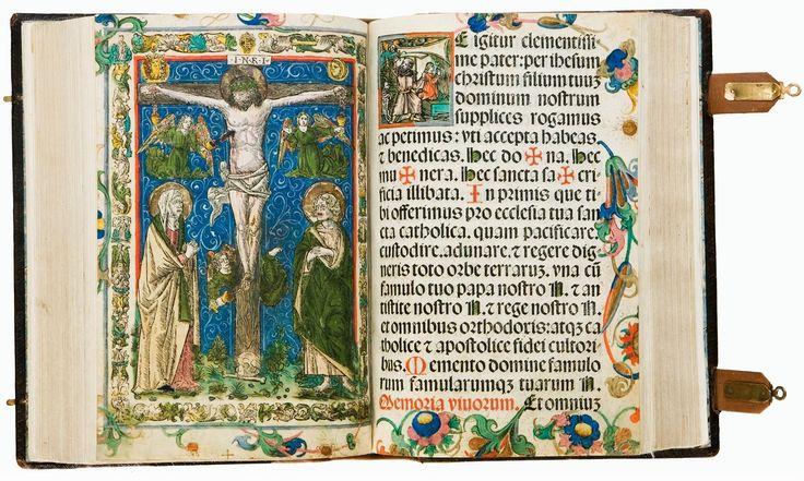 Missale Cracoviensis (Kraków Missal) by Jan Haller, 1515-1516, Ossolineum