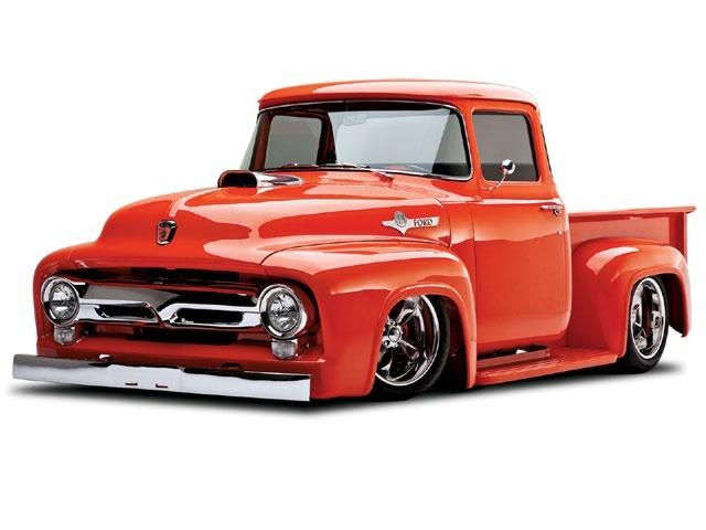 Hot rod pickup