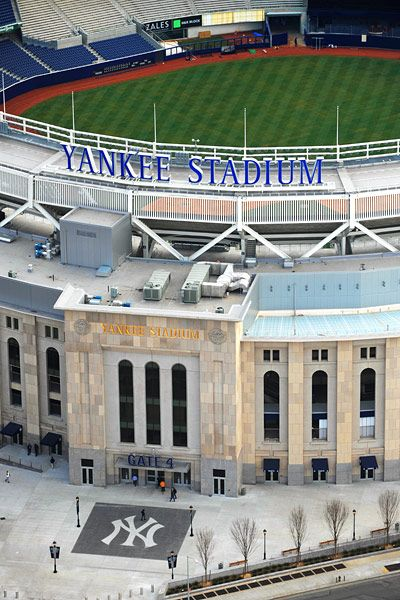 Yankee Stadium, NY   - 10 Things to do in New York City this summer http://www.augustuscollection.com/10-things-new-york-city-summer/