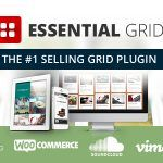 Envato Approves! Essential Grid WordPress Plugin The all-purpose grid building solution! Essential Grid is a premium plugin for WordPress that allows you to display various content formats in a highly customizable grid. Possible applications range from portfolios, blogs, galleries, WooCommerce shops, price tables, services, product sliders, ...