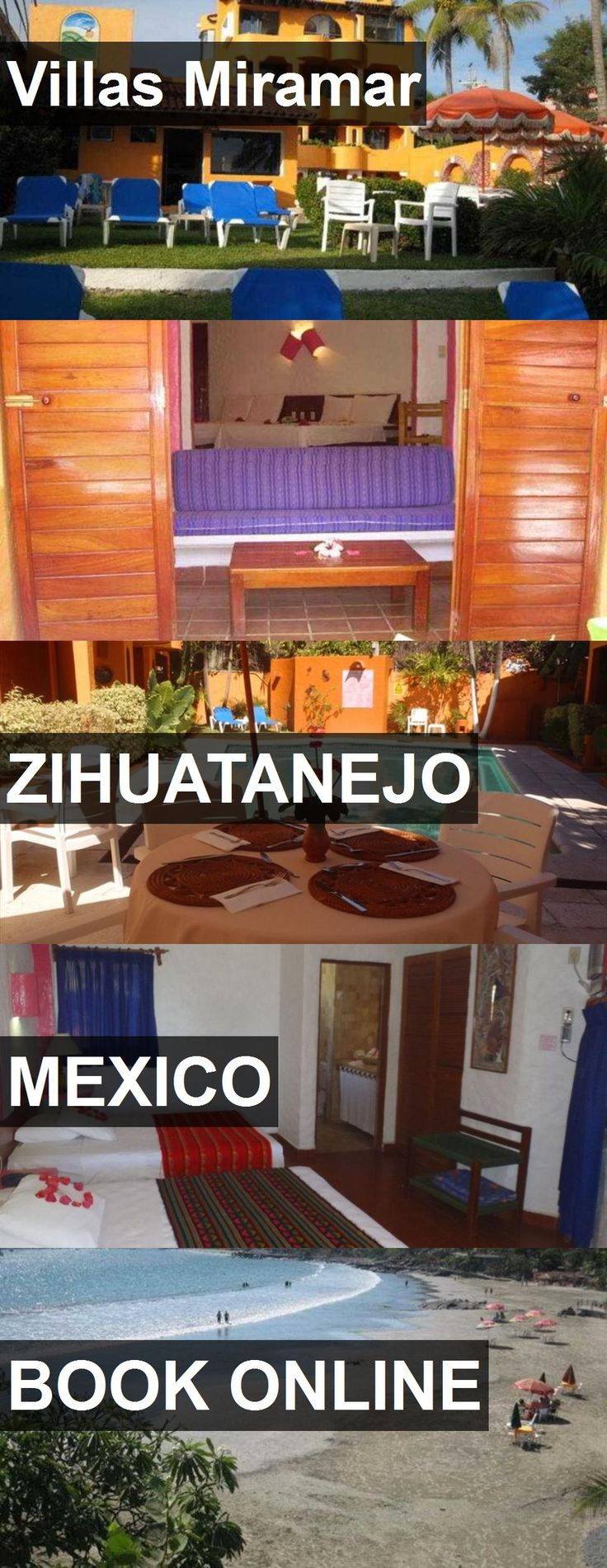 Hotel Villas Miramar in Zihuatanejo, Mexico. For more information, photos, reviews and best prices please follow the link. #Mexico #Zihuatanejo #hotel #travel #vacation