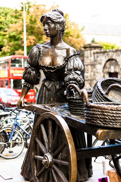 """Molly Malone"" (also known as ""Cockles and Mussels"" or ""In Dublin's Fair City"") is a popular song, set in Dublin, Ireland, which has become the unofficial anthem of Dublin City."