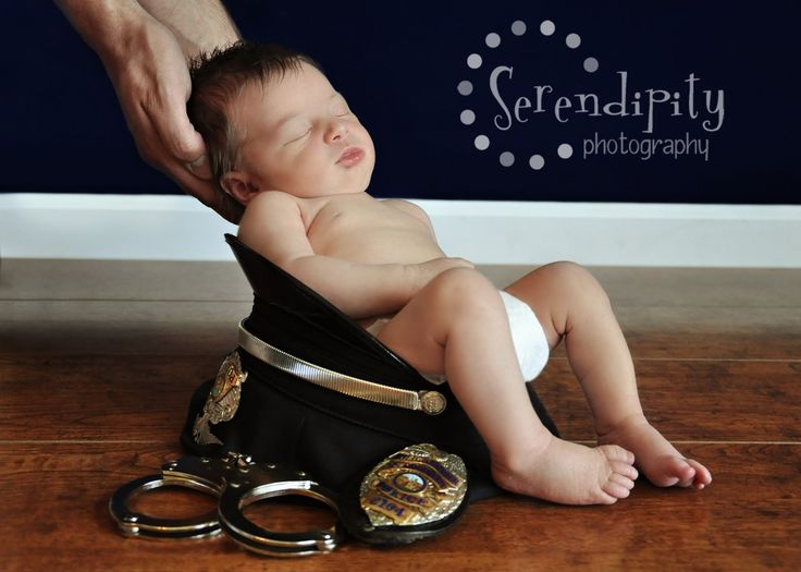 Baby Picture Ideas Police