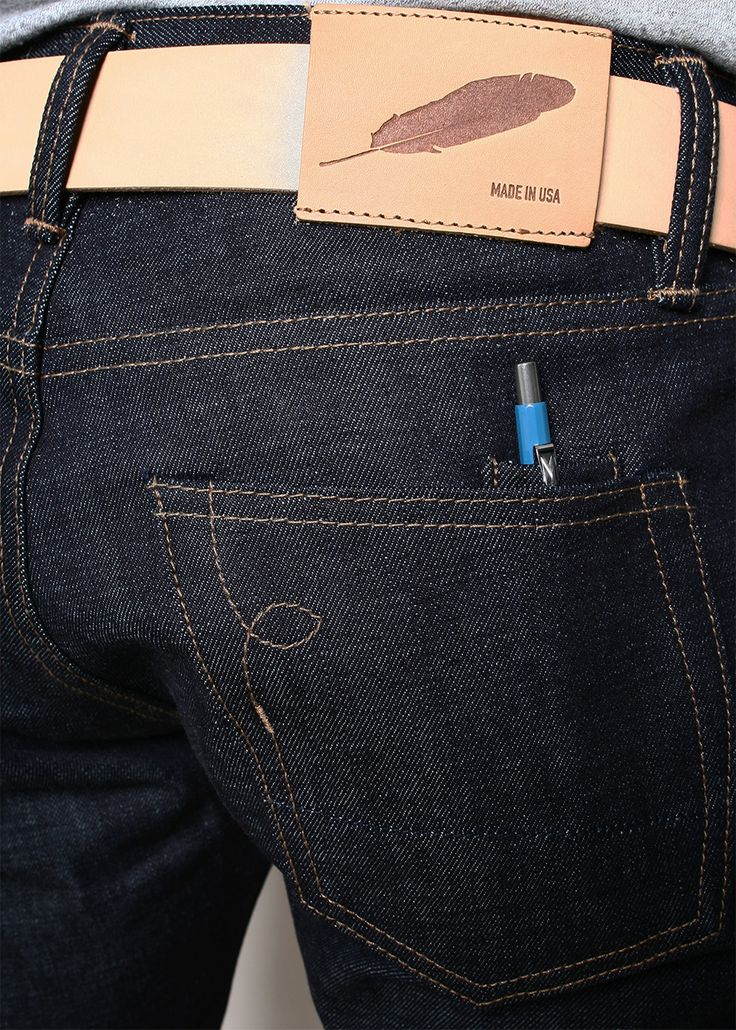 Rogue Territory SK Raw Denim Selvedge Jeans