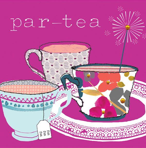 It's time to part-tea! #CoffeeMillionaires #TeaLovers #ilovemyjob