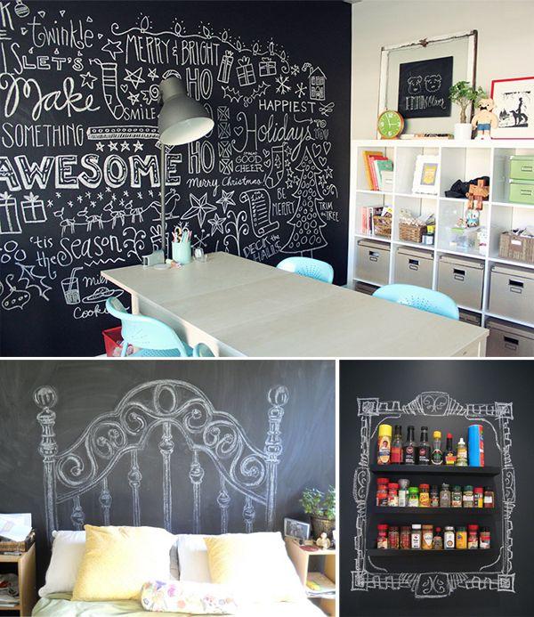 Dando um toque criativo e um espaço para os amigos se expressar ... #dicaadica