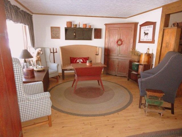 96 best Primitive Sitting Room images on Pinterest Primitive