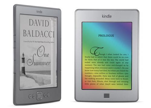 Kindle con tinta electronica