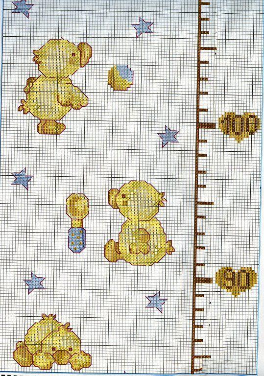 Patitos punto de cruz patrones - Imagui