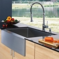 Farmhouse Kitchen Sink, Faucet and...    $694.20