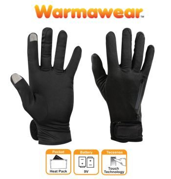 Dual Fuel Battery Heated Glove Liners By WarmawearTM