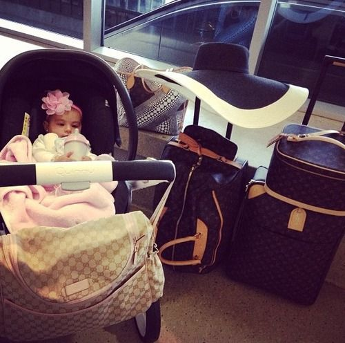 This will be my life! Happily married with an adorable baby who looks like me and Louis Vuitton luggage.
