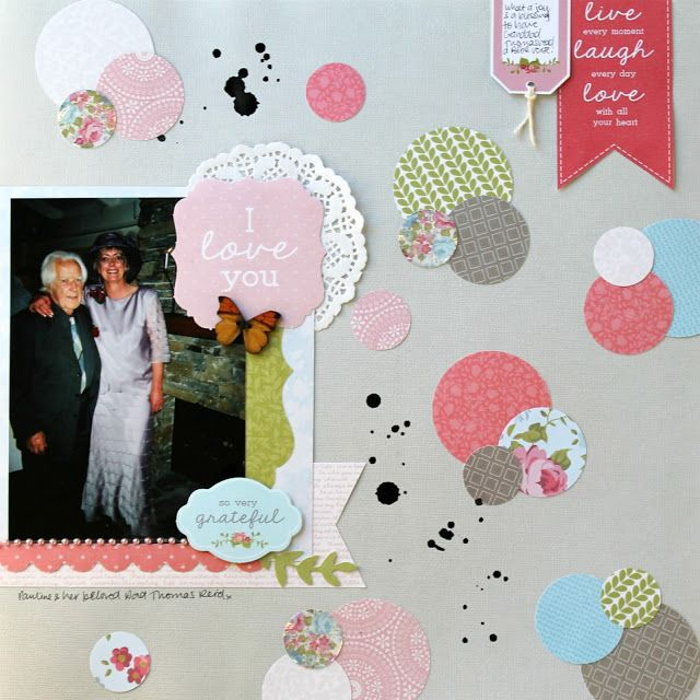 Kaisercraft Secret Garden Layouts (Artfull Crafts) - Melissa Vining