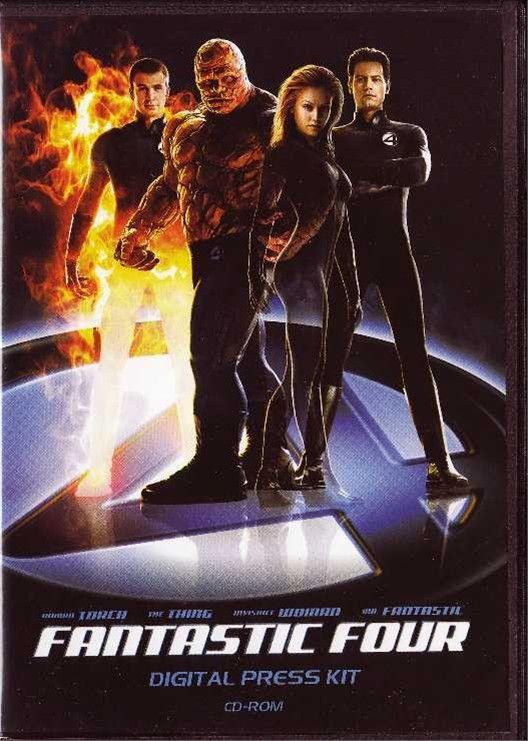 Fantastic Four Original CD Movie Press Kit Jessica Alba Ioan Gruffudd