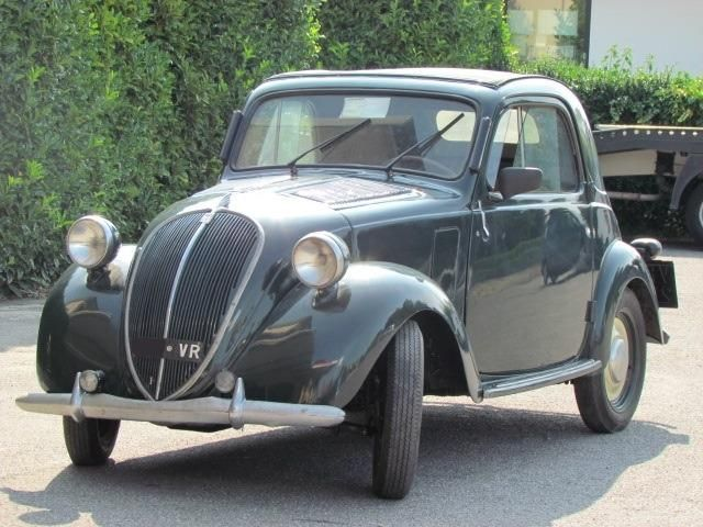 Fiat 500 B TRASFORMABILE 'MITICA TOPOLINO' d'epoca, Benzina