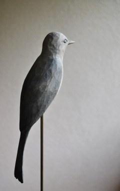 takatoshi - carved wood bird