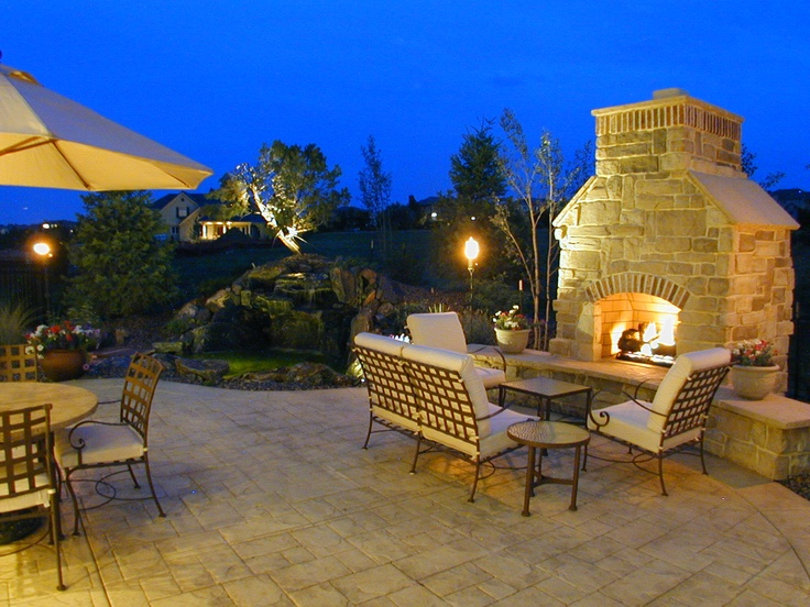 Perfect Outdoor Room With Fireplace In Metro Denver Built By Malibu Homes Colorado Outdoor