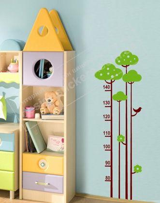 Наклейка-ростомер - это полезная вещь нужна в каждом доме, где подрастает ребенок. Наклейка-ростомер не просто измеритель роста Вашего малыша, но и яркое украшение детской комнаты.