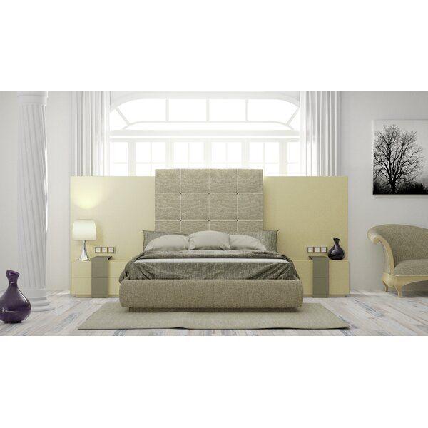 Matheson King Upholstered Standard Bed By Orren Ellis By Orren Ellis Great Price