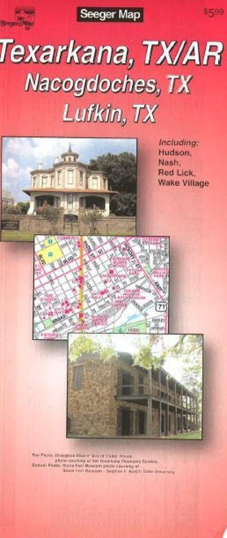 Texarkana, Texas and Arkansas by The Seeger Map Company Inc.