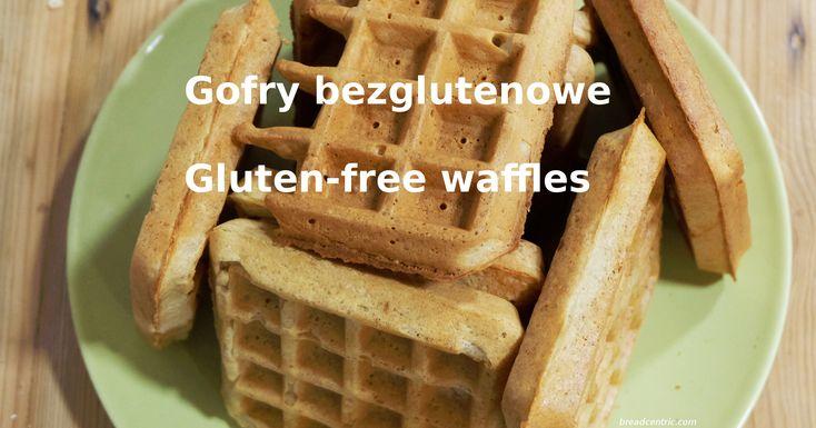 Gluten-free sourdough waffles (pancakes). Bezglutenowe gofry (naleśniki) na zakwasie