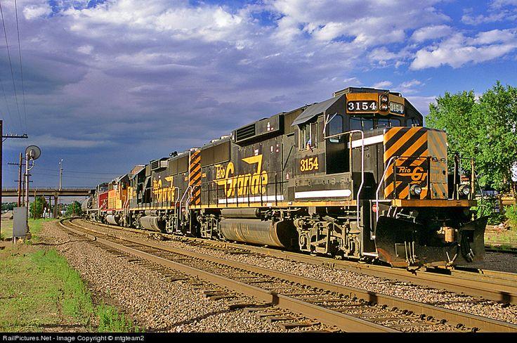 Denver & Rio Grande Western Railroad #3154.
