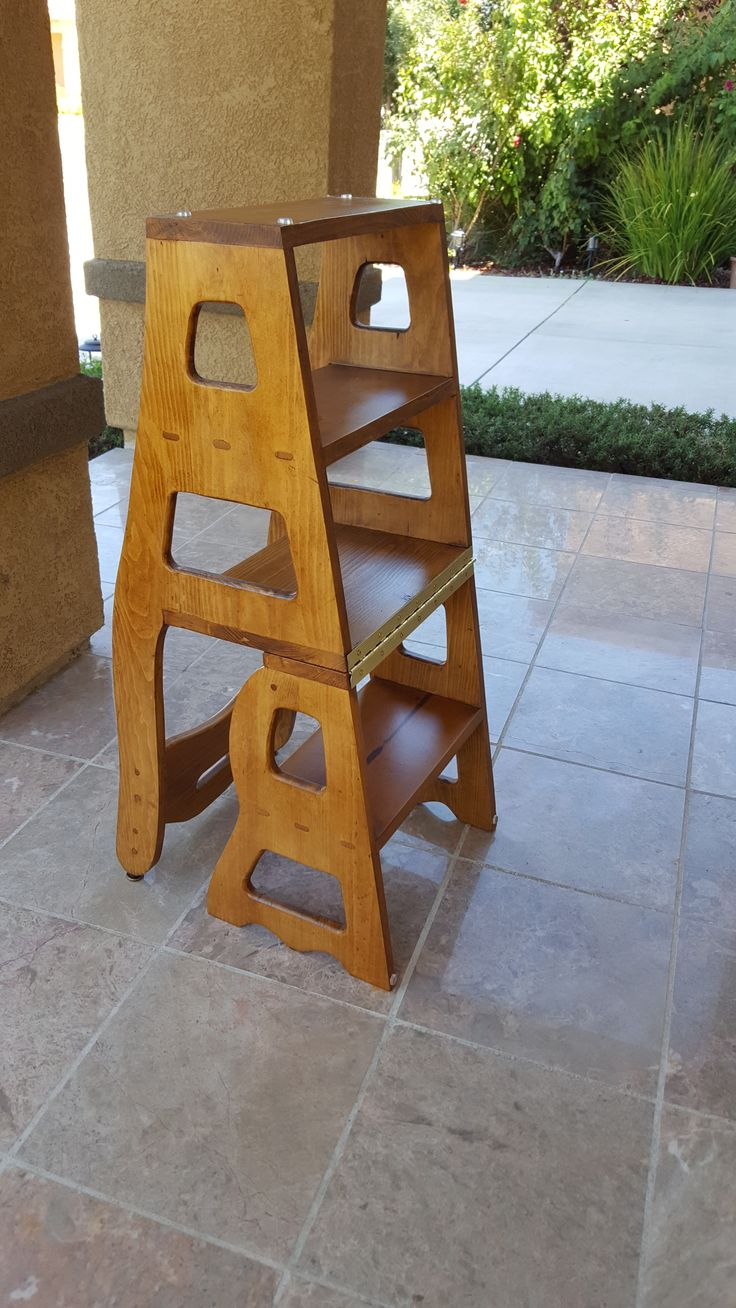 Convertible Step Stool Amp Chair Downloadable Plan Projets
