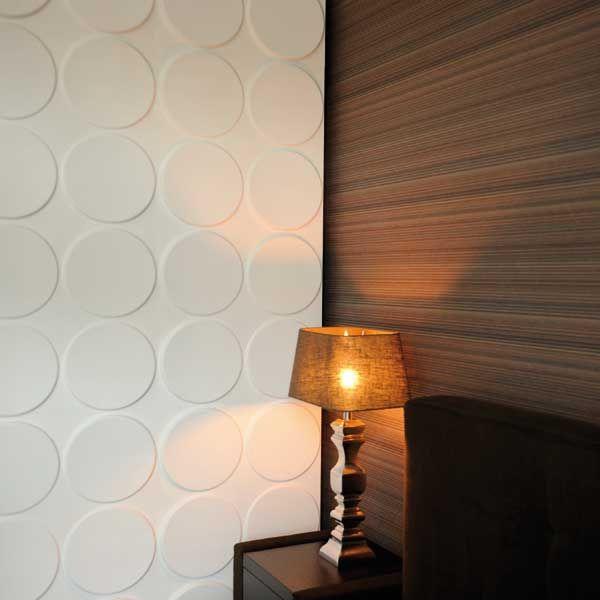 Paneles decorativos para muros WallArt 3D en www.decokarq.cl