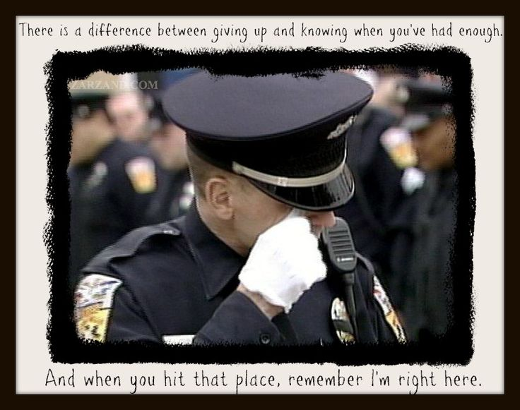 Police Officer Poems And Quotes