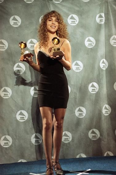 The Most Memorable Red Carpet Moments in Grammy History | Mariah Carey at 1991 Grammy Awards