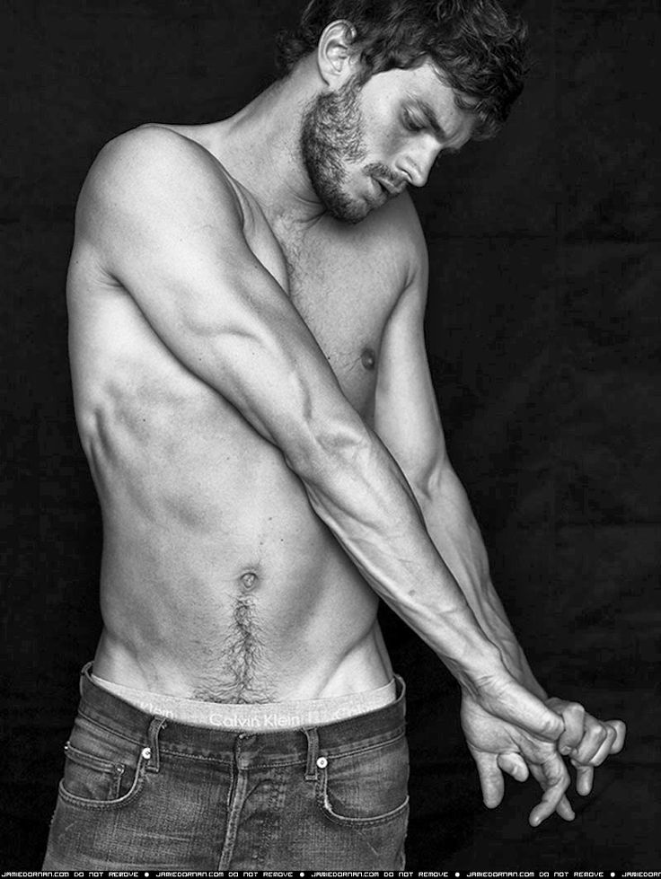 Sweet mother of all that is holy...Jamie Dornan is the sexiest damn thing I've EVER seen!