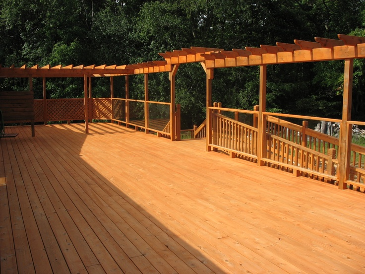 50 best images about decks on pinterest before and after for How to stain log cabin