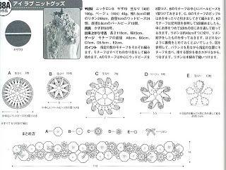 Crochet enchanté: Echarpe fleurs