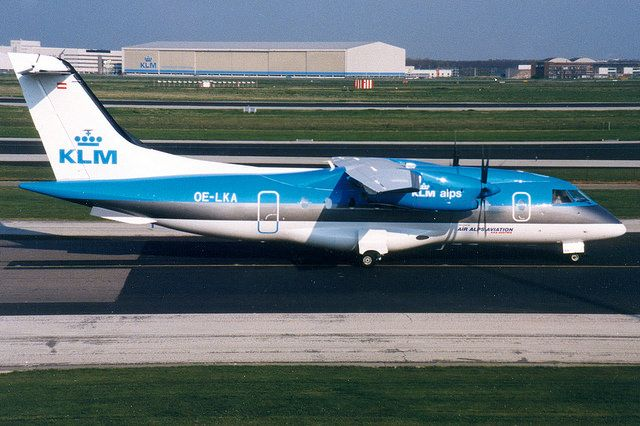 KLM alps (Air Alps Aviation), Dornier 328, OE-LKA, Amsterd… | Flickr