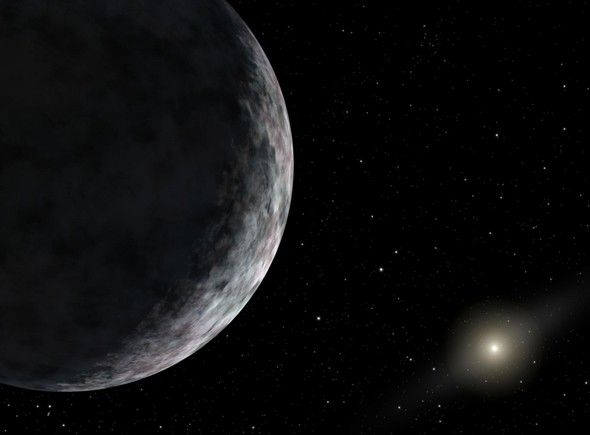 Hello, Ice Ball: The Solar System's Newest Distant Member http://www.slate.com/blogs/bad_astronomy/2014/03/26/oort_cloud_revealed_2012_vp113_has_largest_perihelion_distance_known.html