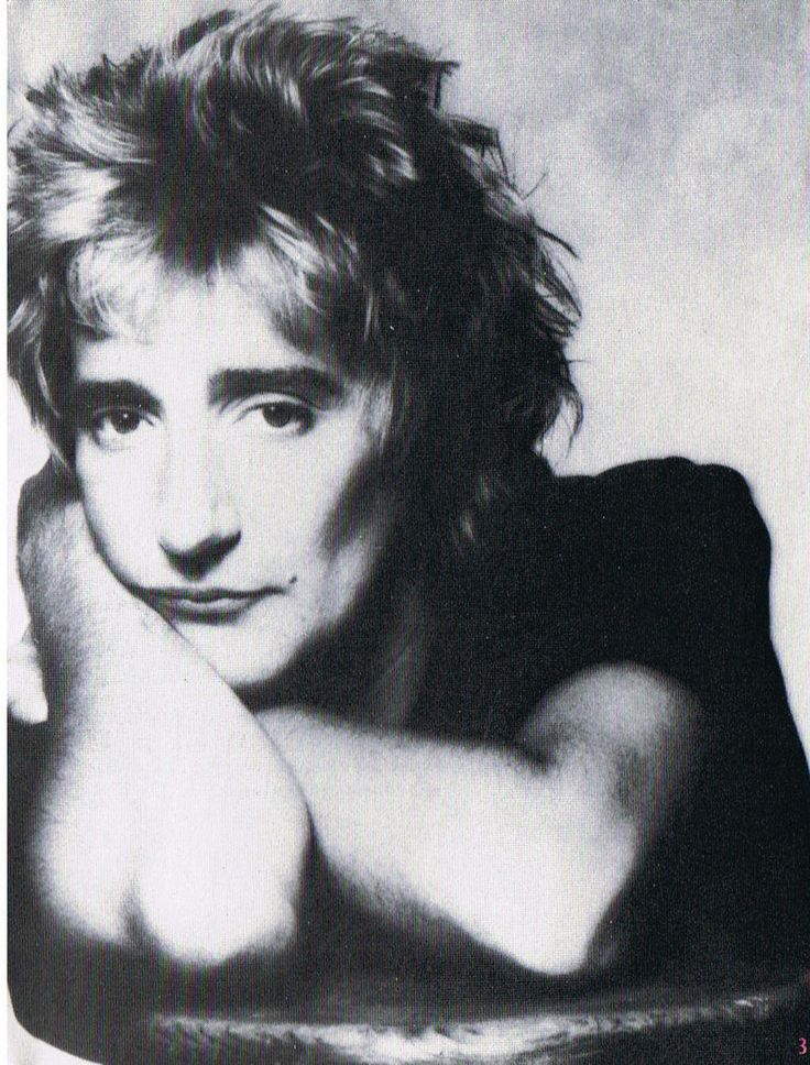 Rod Stewart. Love all his old songs. Now, his new stuff...not so much.