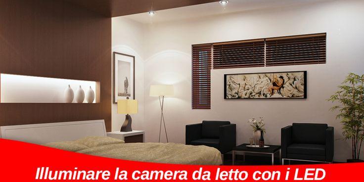 Come illuminare la camera da letto con i LED | Pannelli a Led