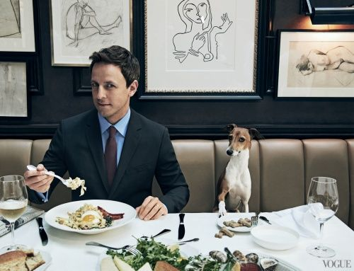 Seth Meyers: From Saturday Night Live to Late Night - Vogue Daily