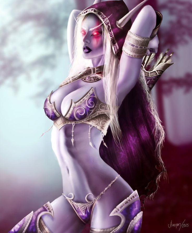 121 best images about SYLVANAS on Pinterest | Artworks ...