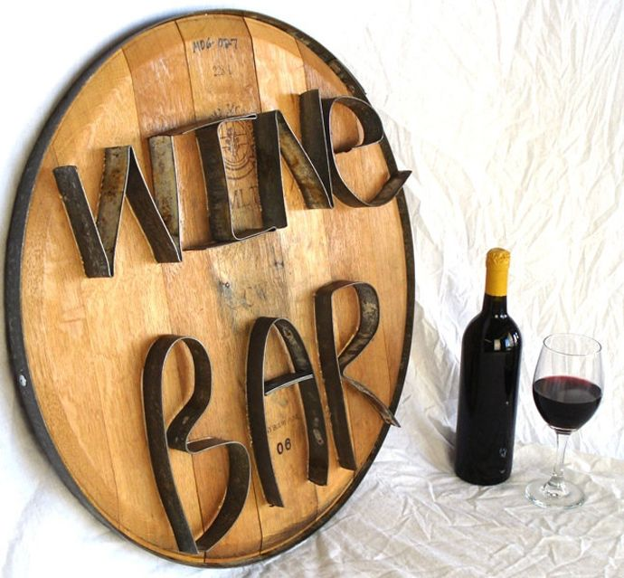 Funky and Rustic: 20 Wine Barrel Amazing Transformations   DesignRulz.com