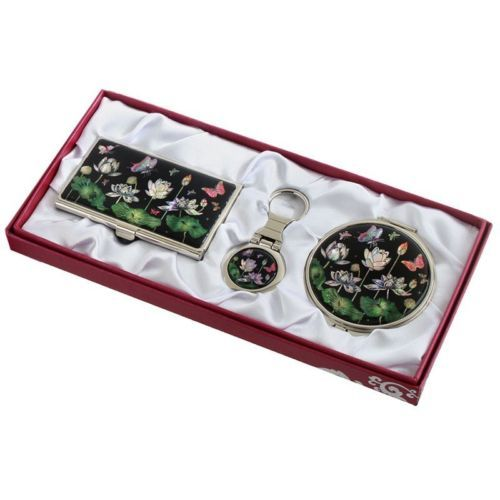 business card holder id case makeup #compact #mirror #keychain ring gift set #32,  View more on the LINK: 	http://www.zeppy.io/product/gb/2/201476789799/