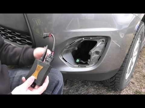 HID fog lights install (H11)