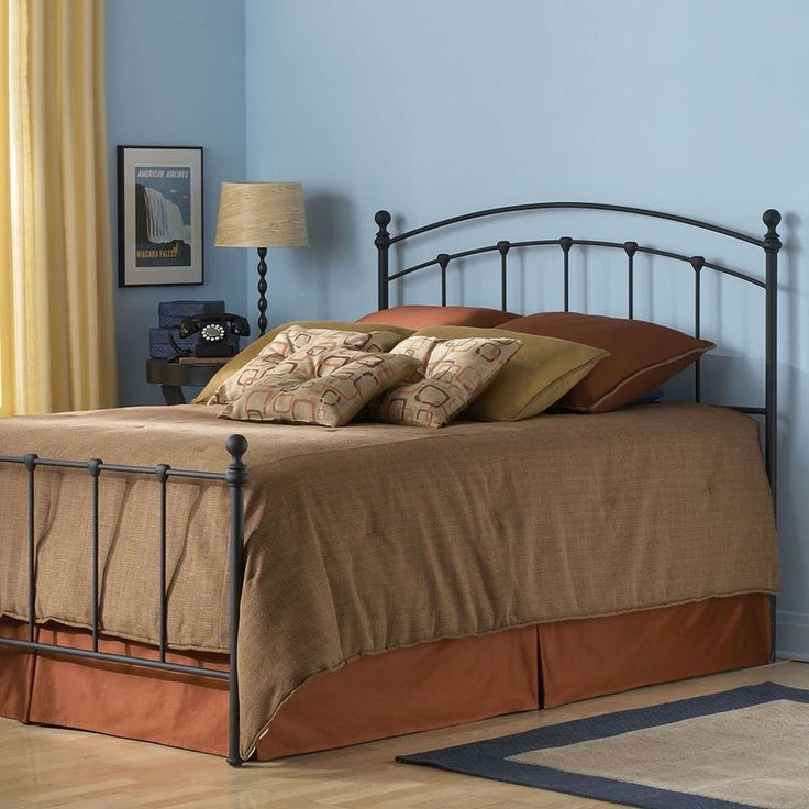 Fashion Bed Group Sanford California King Bed, Black