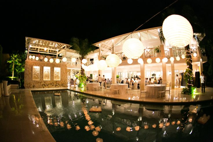 Bali Wedding Reception Setup.