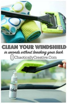 Why didn't we know about the windshield wonder before? This is genius!