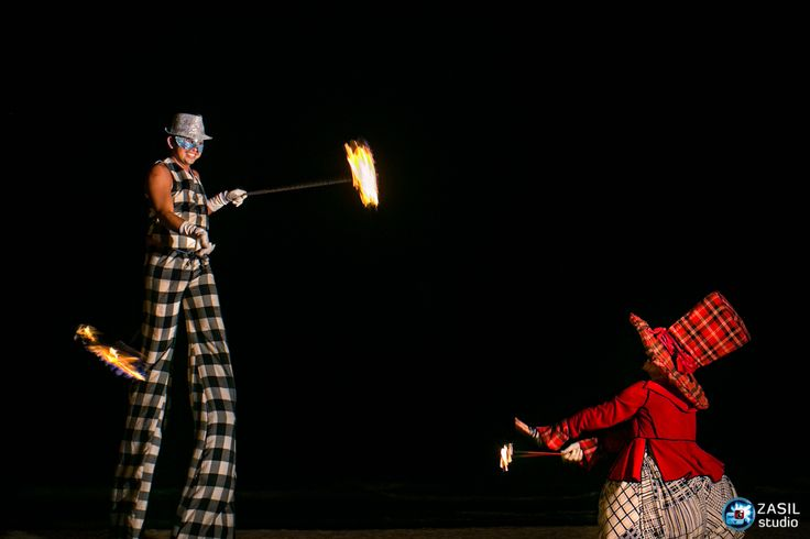 Rosewood Mayakoba, Fireshow with 20Varos collectivo