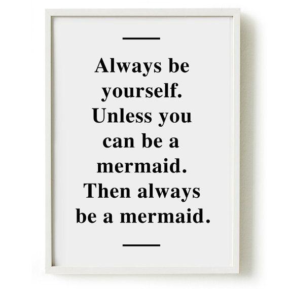 Because mermaids rule.